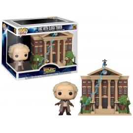 DOC WITH CLOCK TOWER #15-FUNKO POP! TOWN BACK TO THE FUTURE -