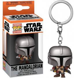 Star Wars: Funko Pop! Keychains - Mandalorian (The) - Mandalorian (Portachiavi) -