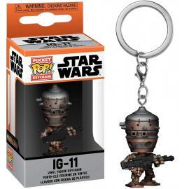 Star Wars: Funko Pop! Keychains - Mandalorian (The) - IG-11 (Portachiavi) -