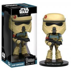 Star Wars: Funko - Wacky Wobbler - Scarif Stormtrooper (Bobble-Head) -