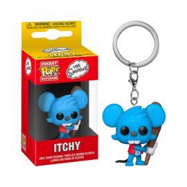 Simpsons: Funko Pop! Keychain - Itchy (Portachiavi) -