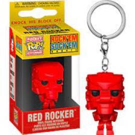 Mattel: Funko Pop! Keychain - Rockemsockemrobot (Red) -