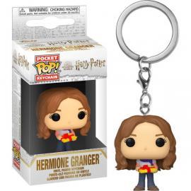 Harry Potter: Funko Pop! Keychain - Holiday - Hermione Granger (Portachiavi) -