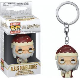 Funko Pop! Keychain: Harry Potter Holiday- Dumbled-Funko Pop! Keychain: -