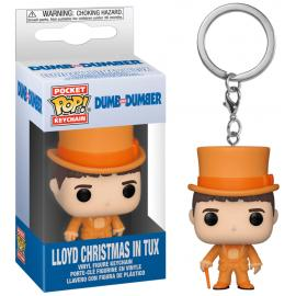 Dumb & Dumber: Funko Pop! Keychain - Lloyd Christmas In Tux (Portachiavi) -