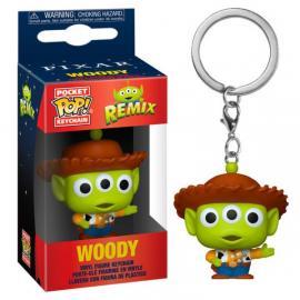 Disney: Funko Pop! Keychain - Pixar Alien Remix - Woody -