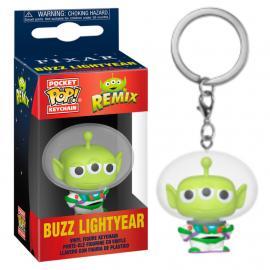 Disney: Funko Pop! Keychain - Pixar Alien Remix - Buzz Lightyear (Portachiavi) -