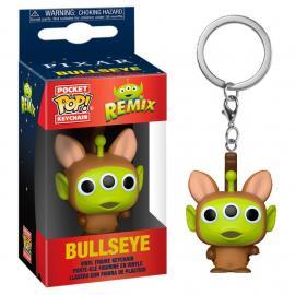 Disney: Funko Pop! Keychain - Pixar Alien Remix - Bullseye -