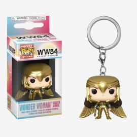Dc Comics: Funko Pop! Keychain - WW84 - Wonder Woman Gold Power Pose -