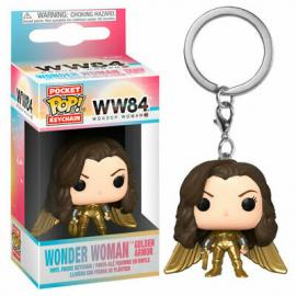 Dc Comics: Funko Pop! Keychain - WW84 - Wonder Woman Gold No Helmet -