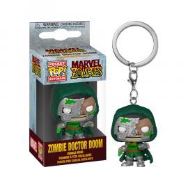 Marvel: Funko Pop! Keychain - Zombies - Dr. Doom (Portachiavi) -