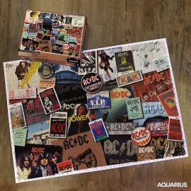 AC/DC ALBUMS 1000 PCS PUZZLE - AC/DC