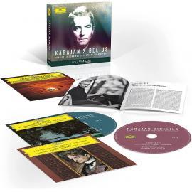 COMPLETE SIBELIUS RECORDINGS ON DG - KARAJAN, HERBERT VON