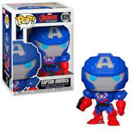 Marvel: Funko Pop! - Avengers Mech Strike - Captain America (Bobble-Head) (Vinyl Figure 829) -