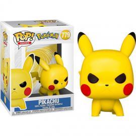 Funko Pop! Games: - Pokemon - Pikachu (Attack Stance) -