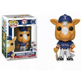 Funko Pop! Mlb: - Ranger'S Captain (Texas) -