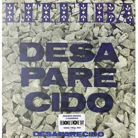 Litfiba - Desaparecido Limited & Numbered Edition – Blu 180gr (Rsd 2021) - LITFIBA