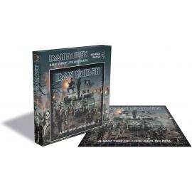 A Matter Of Life & (500 Pc Puzzle) - Iron Maiden