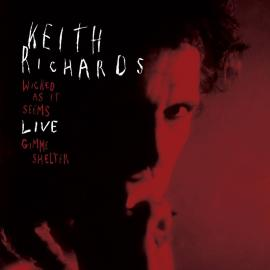 """WICKED AS IT SEEMS -RSD 2021 -7"""" - KEITH RICHARDS"""