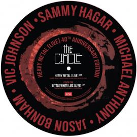 LP-SAMMY HAGAR & THE CIRCLE-HEAVY METAL / LITTLE W -