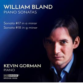 PIANO SONATAS-BLAND / GORMAN -