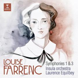 LOUISE FARRENC SYMP 1&3-CD-LAURENCE EQUILBEY -