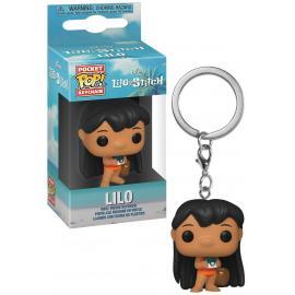 Disney: Funko Pop! Keychain: - Lilo & Stitch- Lilo W/Camera -