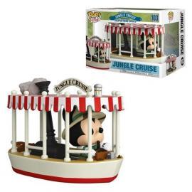 Disney: Funko Pop! Rides - Jungle Cruise - Skipper Mickey w/Boat (Vinyl Figure 103) -