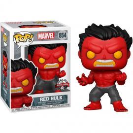 Funko Pop! Marvel: - Hulk-Red Hulk W/ (Gw)*(Latam Exclusive Version) -
