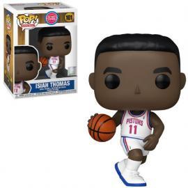 Nba: Funko Pop! Basketball - Legends- Isiah Thomas (Pistons Home) (Vinyl Figure 101) -