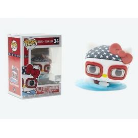 Funko Pop! Sanrio - Hello Kitty Sports Team Usa - Swimmingl Hello Kitt -