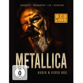 Metallica - Audio & Video Box (8-Cd/Dvd Set) -
