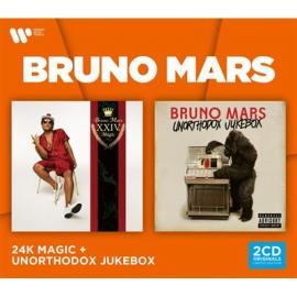 24K MAGIC&UNORTHODOX-2CD-BRUNO MARS -