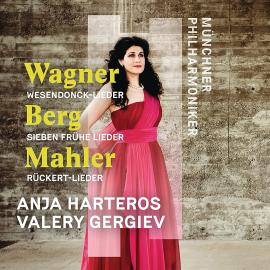 WARNER/MAHLER/BERG -CD- - ANJA HARTEROS