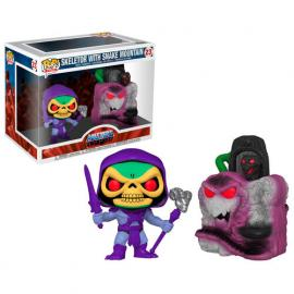 SKELETOR WITH SNAKE MOUNTAIN #23-FUNKO POP! TOWN MASTERS OF THE UNIVERSE -