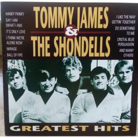 TOMMY JAMES & THE SHONDELLS-GREATEST HITS -