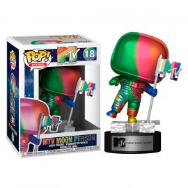 Funko - Icons: MTV (Moon Person Rainbow) POP! Vinyl /Toys -