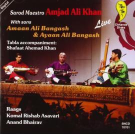 Sarod Maestro - With Sons - Amjad Ali Khan