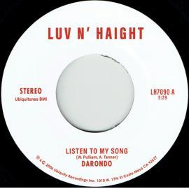Listen To My Song - Darondo