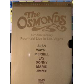 50th Anniversary -  Reunited Live In Las Vegas 2 Disc Collectors Edition - The Osmonds