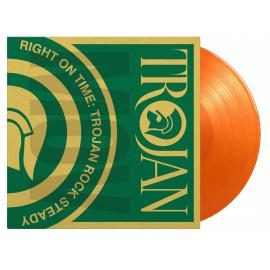Right On Time - Trojan Rock Steady (2LP Coloured Orange) - VARIOUS ARTISTS