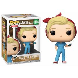 LESLIE THE RIVETER #1146-FUNKO POP! TELEVISION PARKS AND RECREATION -