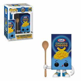 KRAFT MACARONI AND CHEESE BLUE BOX-FUNKO POP! AD ICONS KRAFT MACARONI AND CHEESE DINNER -