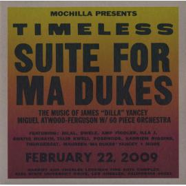 """Mochilla Presents Timeless: Suite For Ma Dukes - The Music Of James """"J Dilla"""" Yancey - Miguel Atwood-Ferguson"""