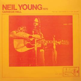 LP-NEIL YOUNG-CARNEGIE HALL 1970 -2LP- - Neil Young