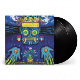 BLESSINGS AND MIRACLES  -LP- - Santana