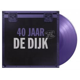 40 Jaar (Het Beste Van Nu Tot Toen) (180g) (Limited Numbered Edition) (Purple Vinyl)-De Dijk -