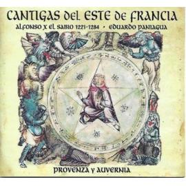 .- CANTIGAS DEL ESTE DE FRANCIA - Eduardo Paniagua