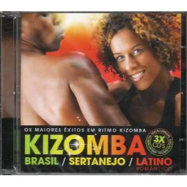 Kizomba Brasil / Sertanejo / Latino Romântico: Os Maiores Êxitos Em Ritmo Kizomba - Various