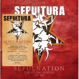 SEPULNATION 1998-2009-  5CD- -